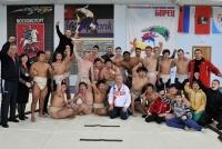 Совместная тренировка по сумо с японцами 2014г.